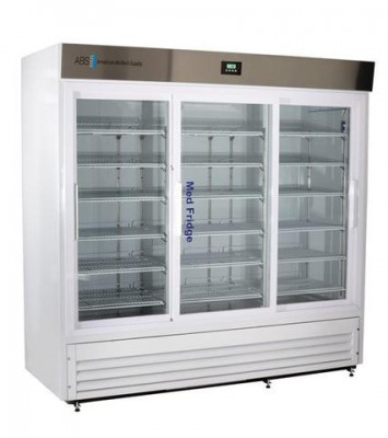 American BioTech Supply Premier Pharmacy Laboratory Refrigerators (69 cu ft) (Glass Door)