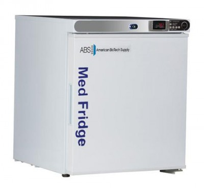 American BioTech Supply Premier Pharmacy Undercounter Refrigerators (1 cu ft) (Left Hinge) (Solid Door)