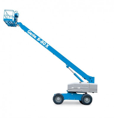 Genie S80 Self Propelled Boom Lift, 2WD or 4WD, Dual Fuel or Diesel Power