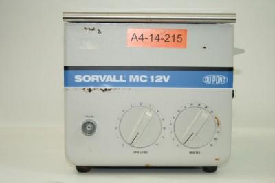 Sorvall MC-12V Benchtop Centrifuge