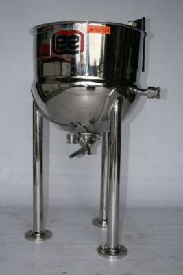 EE Lee Industries Stainless Steel Mixer Bowl D7SI