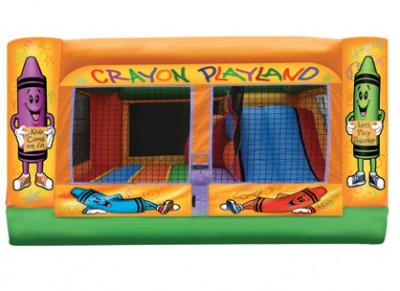 Crayon Playland Bouncer