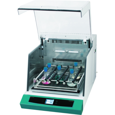 IST-3075 Incubated Series 1.9 Cu ft. Heating. Universal Platform with full set 500 mL flask clamps