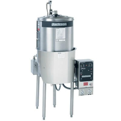 Jackson MODEL 10AB High-Temperature Round Dish Machine with Booster Heater - 208/230V