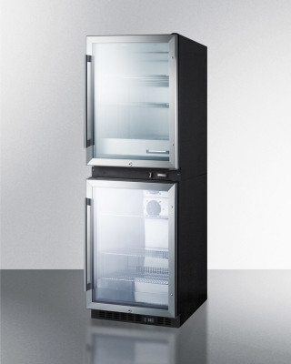 Summit Appliance RFBW61G Puretherm Fully Assmebled Combination Warming And Cooling Cabinet