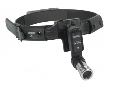 BR Surgical BR900-3190 Wireless LED Headlight W/ Leather Headband & Rechargeable Lithium Ion Battery/charger