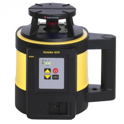 Leica Rugby 820 Self-Leveling Rotary Laser