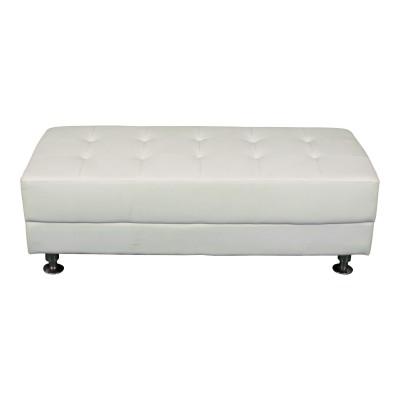 Manhattan Bench - White