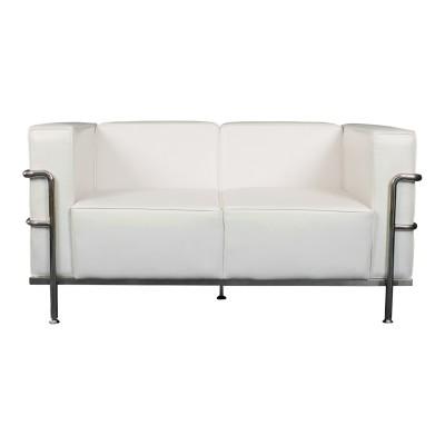 Manhattan Love Seat - White