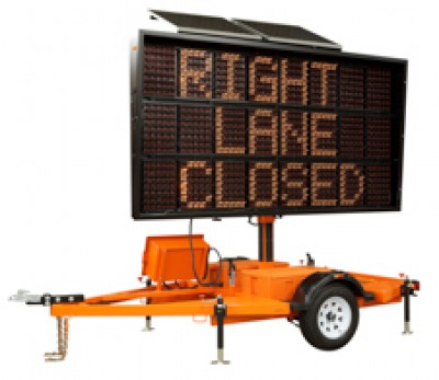 Portable Changeable Message Sign