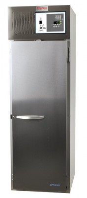 Thermo Scientific General Purpose Series Lab Freezer, 34 cu ft, Stainless Steel, Solid Door, Chart Recorder