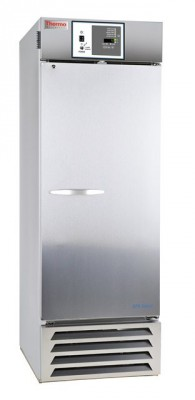 Thermo Scientific General-Purpose Series Lab Refrigerator, 27 cu ft, Stainless Steel, Solid Door, Chart Recorder