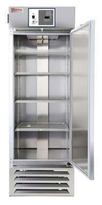 Thermo Scientific General-Purpose Series Lab Refrigerator, 27 cu ft, Stainless Steel, Glass Door