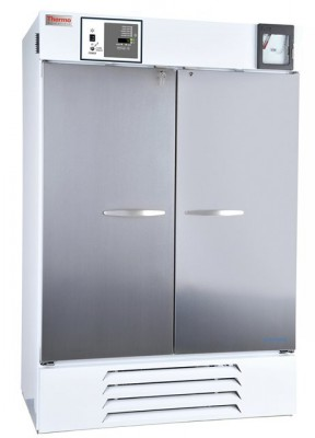Thermo Scientific General-Purpose Series Lab Refrigerator, 48 cu ft, Stainless Steel, Solid Door, Chart Recorder