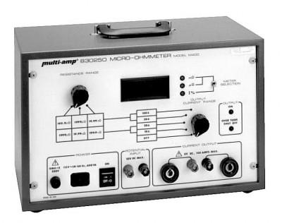 Multi-Amp M400 Contact Resistance Test Set, 100A