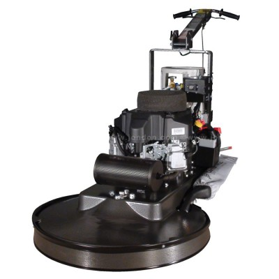Pioneer-Eclipse Propane Burnisher with Steel Propane Tank & Dust Control