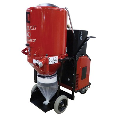 Ermator T7500 Three-Phase Dust Extractor with Distribution Box