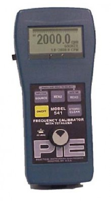 PIE 541 Frequency Calibrator with Totalizer