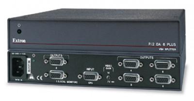 Extron P/2 DA4 Plus Four Output VGA-UXGA Distribution Amplifier