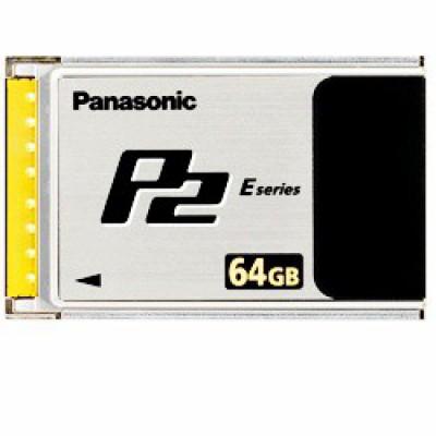 Panasonic AJ-P2E064XG 64GB P2 Flash Memory Card