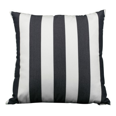 Navy & White Stripes Pillow