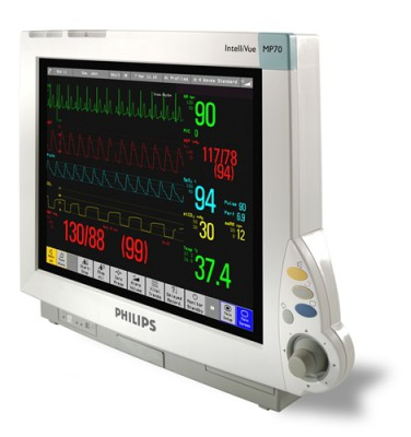 Philips MP 70 Intellivue Patient Monitor
