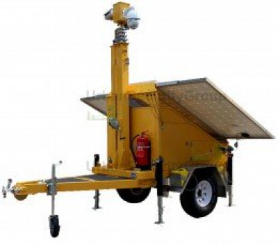 Portable Security Camera Trailer rentals