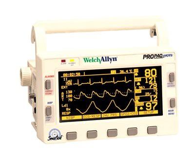 Welch Allyn Propaq Encore Monitor Model 206 EL