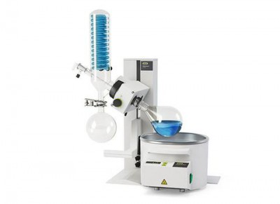 Buchi Rotavapor R-100 Rotary Evaporator Cold Trap with 24/40 Joint Glass Assembly No Coating 120-200V