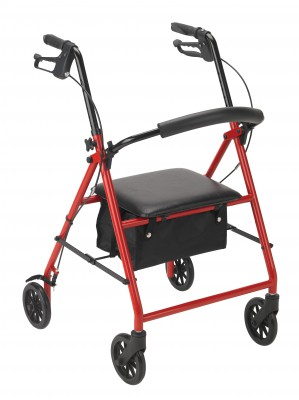 Drive Medical STEEL ROLLATOR WITH 6