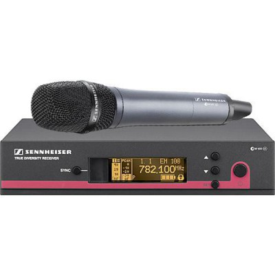 Sennheiser ew 135 G3 Wireless Handheld Microphone System with e 835 Mic - A
