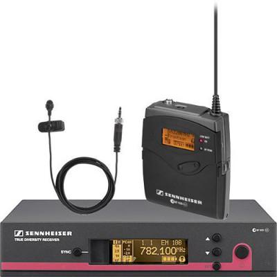 Sennheiser ew 112 G3 Wireless Bodypack Microphone System with ME 2 Lavalier Mic - A