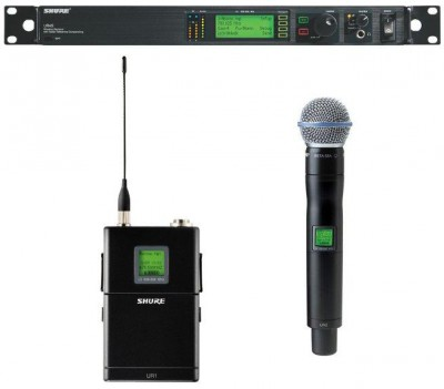 Shure R Wireless Series Lavalier or Hand Held
