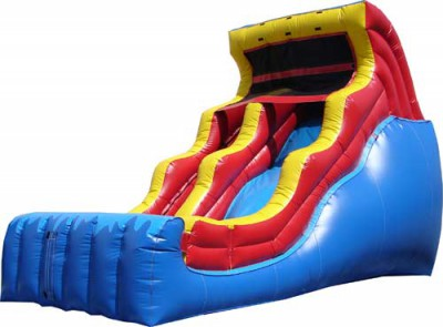18' Double Drop Slide Bouncer