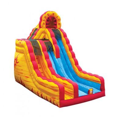 Fire N' Ice Slide Bouncer