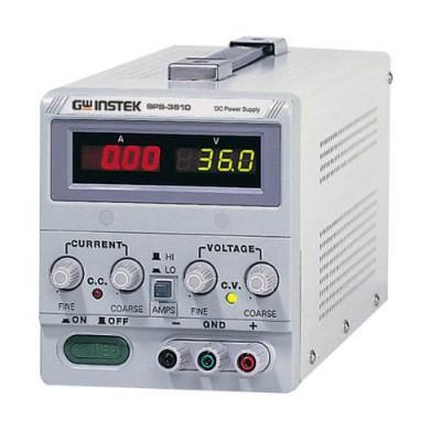 Instek SPS-3610 Power Supply  0-36 V, 0-10 A