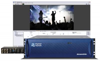 Digital Rapids/Imagine Communications Stream Z HD-D-Dual Streaming/Encoder - All File Formats - Dual Channel