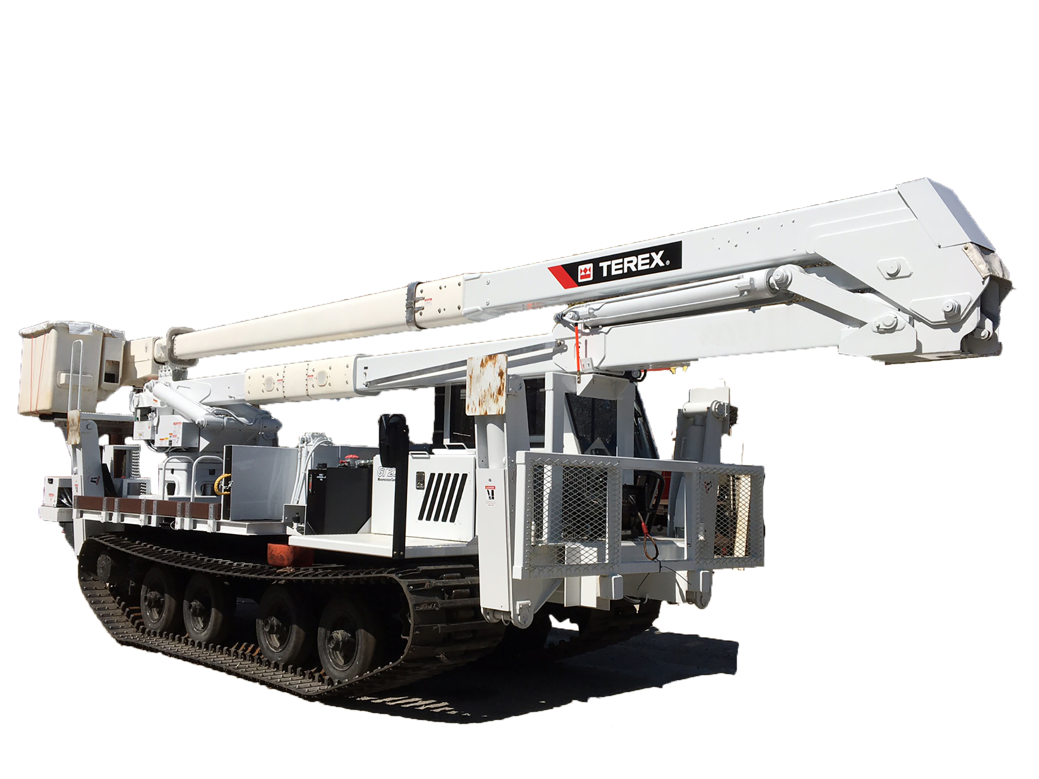Tracked Bucket Truck Rentals And Leases   KWIPPED