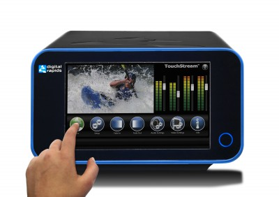 Digital Rapids Touchstream Hdi Portable High Quality Streaming/Encoding Appliance