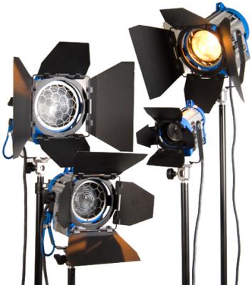 Arri Tungsten Lighting Pro Kit