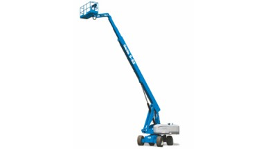 Genie S85 Self Propelled Boom Lift, 2WD or 4WD, Dual Fuel or Diesel Power