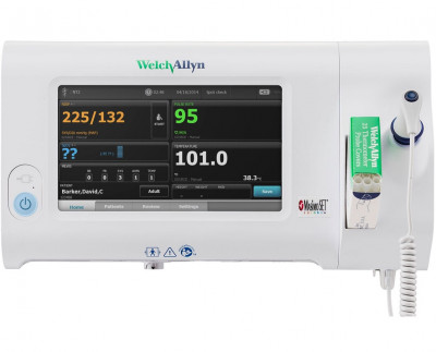 Welch Allyn Connex Spot Monitor with Non-Invasive BP, Blue Tooth and Nonin SpO2 - 73WX-B
