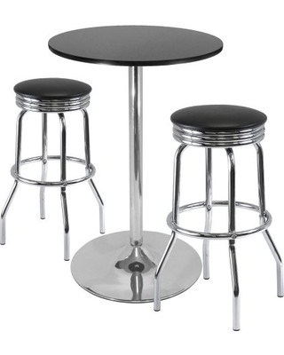Furniture Rental Package - 28 inches Bar Table with 2 Stools