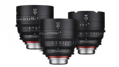 Rokinon Xeen Cinema Sony E Mount Basic Lens Set