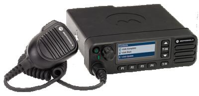 Motorola XPR 5580 In-Vehicle Push-to-Talk Radio